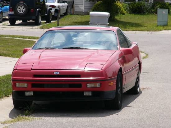 1990 Ford Probe 2 Dr GT Turbo Hatchback picture, exterior