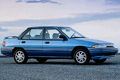 Picture of 1994 Mercury Tracer 4 Dr LTS Sedan