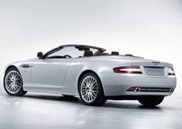 2009 Aston Martin DB9, Back Left Quarter View, exterior, manufacturer