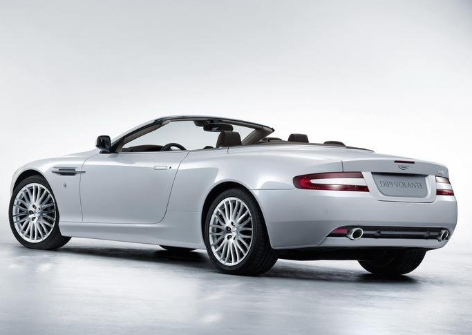 2009 Aston Martin DB9, Back Left Quarter View, manufacturer, exterior
