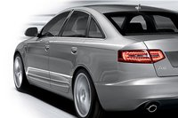 2009 Audi A6, Back Right Quarter View, exterior, manufacturer
