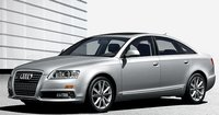 2009 Audi A6, Front Left Quarter View, exterior, manufacturer, gallery_worthy