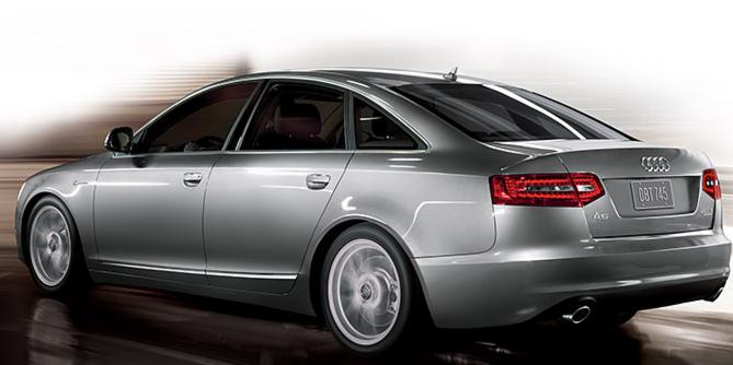 Audi A6 2009 Interior. 2009 Audi A6, Back Left