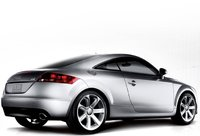 2009 Audi TT, Back Right Quarter View, exterior, manufacturer