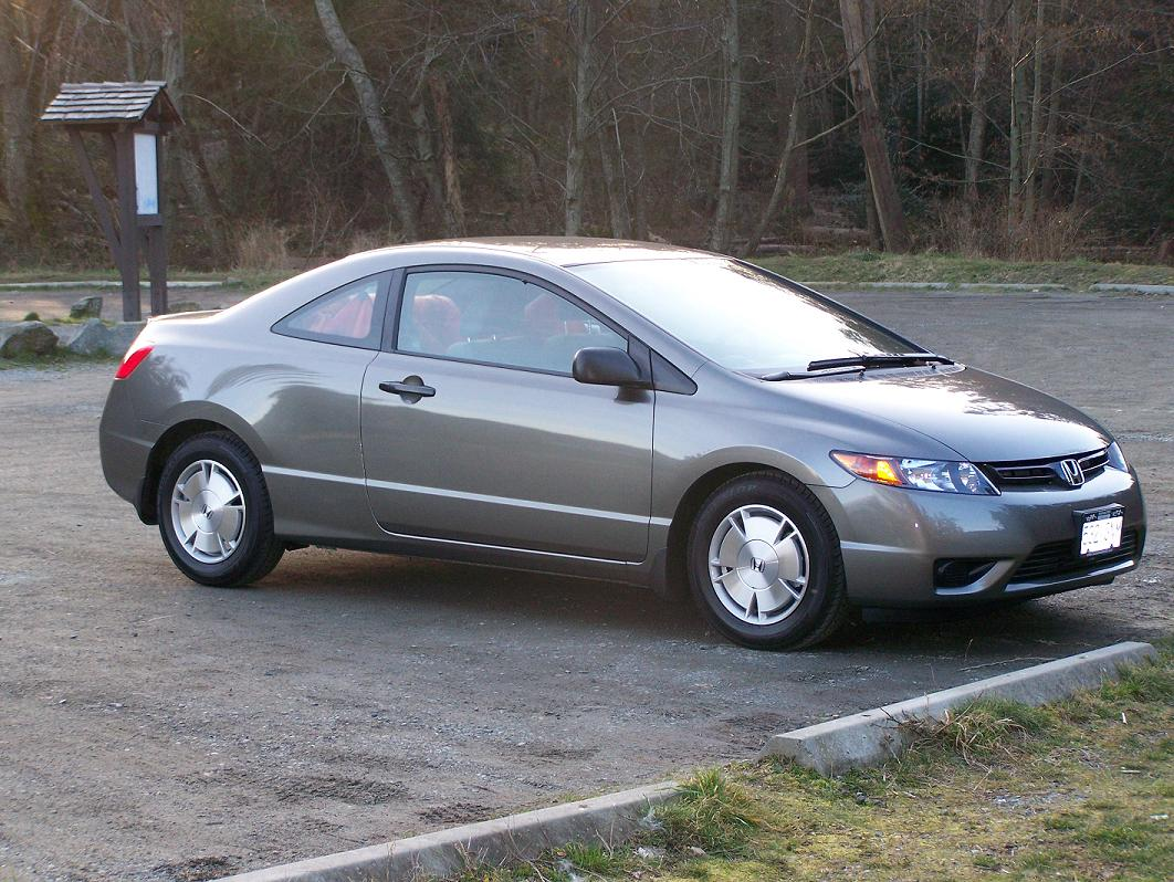 2008 Honda Civic Coup DX related infomationspecifications