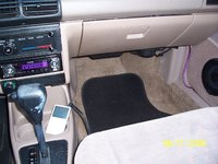 "1994 Ford Escort 2 Dr LX Hatchback, Kenwood deck, JL 5 1/4"" coaxials and the iPod, interior, gallery_worthy"