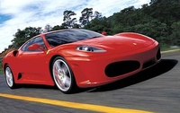2009 Ferrari F430, Front Right Quarter View, manufacturer, exterior