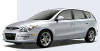 2009 Hyundai Elantra Touring, Front Left Quarter View, exterior, manufacturer