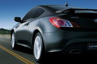 2010 Hyundai Genesis Coupe, Back Left Quarter View, exterior, manufacturer