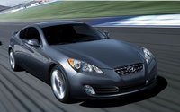 2010 Hyundai Genesis Coupe, Front Right Quarter View, exterior, manufacturer
