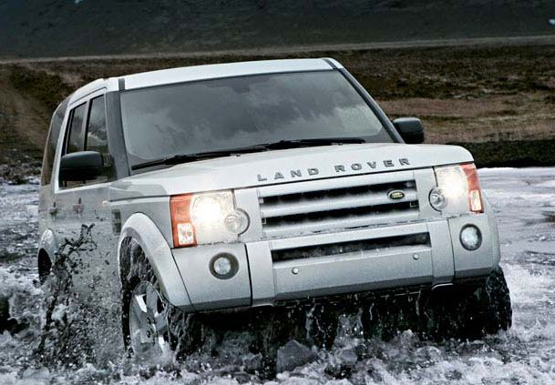 2009 Land Rover LR3, Front Right Quarter View, manufacturer, exterior