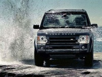 2009 Land Rover LR3, Front View, exterior, manufacturer