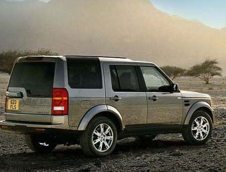2009 Land Rover LR3, Back Right Quarter View, exterior, manufacturer