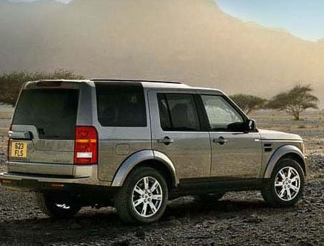 2009 Land Rover LR3, Back Right Quarter View, manufacturer, exterior