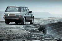 2009 Land Rover Range Rover, Back Right View, exterior, manufacturer