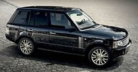 2009 Land Rover Range Rover, Right Front Quarter View, exterior, manufacturer