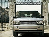 2009 Land Rover Range Rover, Front View, exterior, manufacturer