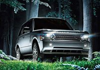 2009 Land Rover Range Rover, Front Right Quarter View, exterior, manufacturer