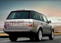 2009 Land Rover Range Rover, Back Right Quarter View, exterior, manufacturer