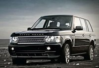 2009 Land Rover Range Rover, Front Left Quarter View, exterior, manufacturer