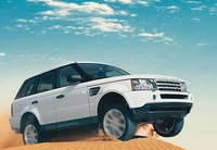 2009 Land Rover Range Rover Sport, Front Right Quarter View, manufacturer, exterior