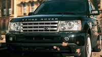 2009 Land Rover Range Rover Sport, Front View, exterior, manufacturer