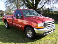 2001 Ford F-250 Super Duty XLT LB, 2001 Ford F-250 Super Duty 2 Dr XLT Standard Cab LB picture, exterior
