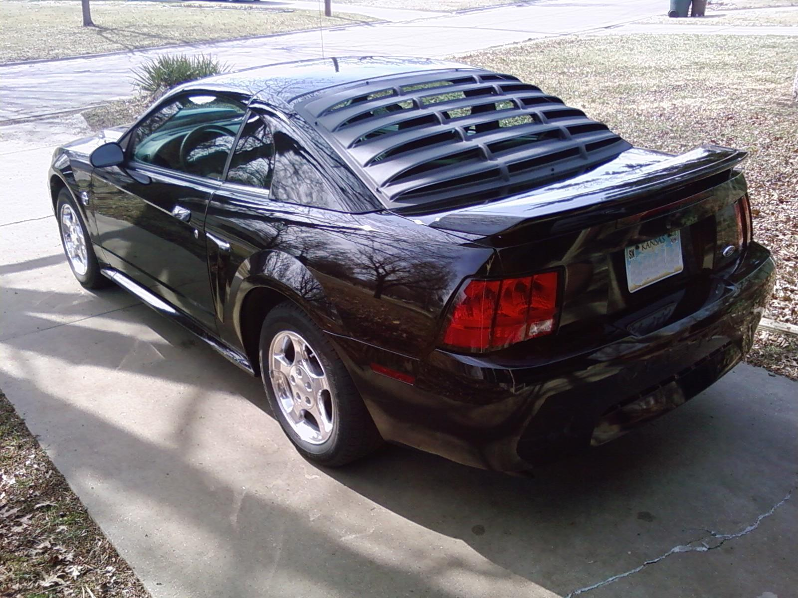 2004 ford mustang pictures cargurus for 2000 mustang rear window louvers