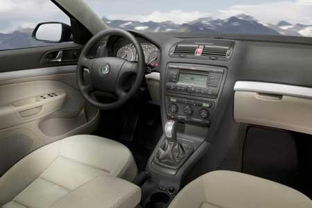 2008 Skoda Octavia picture, interior