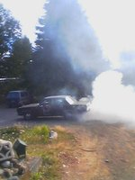 1973 Plymouth Valiant, ,testing out the posi traction ,8 3/4 the only way to go, exterior