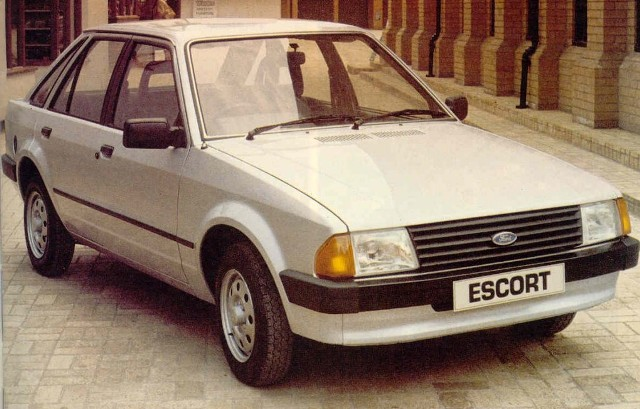 1981 Ford Escort - Ext...