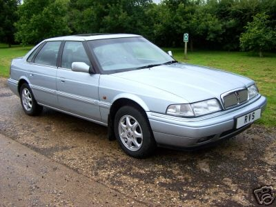 1993 Rover 820.Blue with gray interior. Best car I'll ever own.