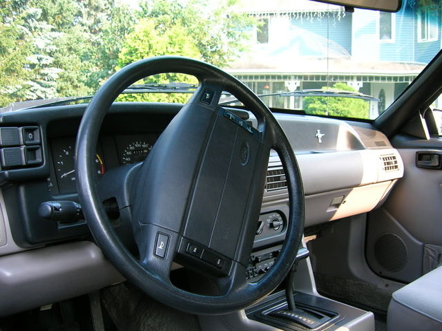 Picture of 1991 Ford Mustang LX Hatchback RWD, interior, gallery_worthy