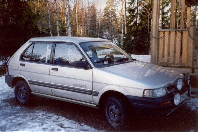 Picture of 1990 Subaru Justy 4 Dr GL 4WD Hatchback, exterior, gallery_worthy