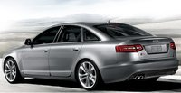 2009 Audi S6, Back Left Quarter View, exterior, manufacturer