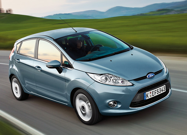 2009 Ford Fiesta, Front Right Quarter View, exterior, manufacturer, gallery_worthy