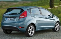 2009 Ford Fiesta, Back Right Quarter View, exterior, manufacturer, gallery_worthy