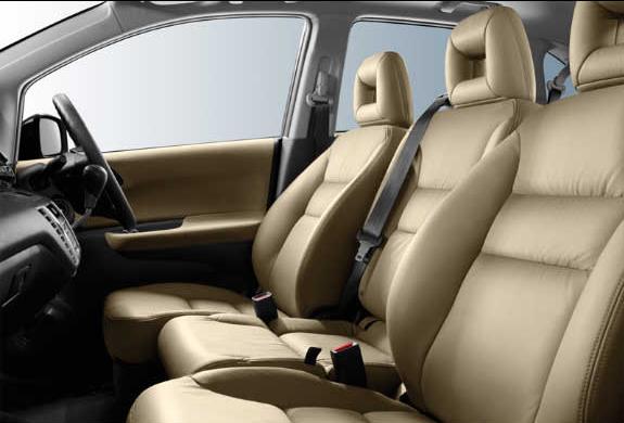 honda fr v. 2008 Honda FR-V, Interior View