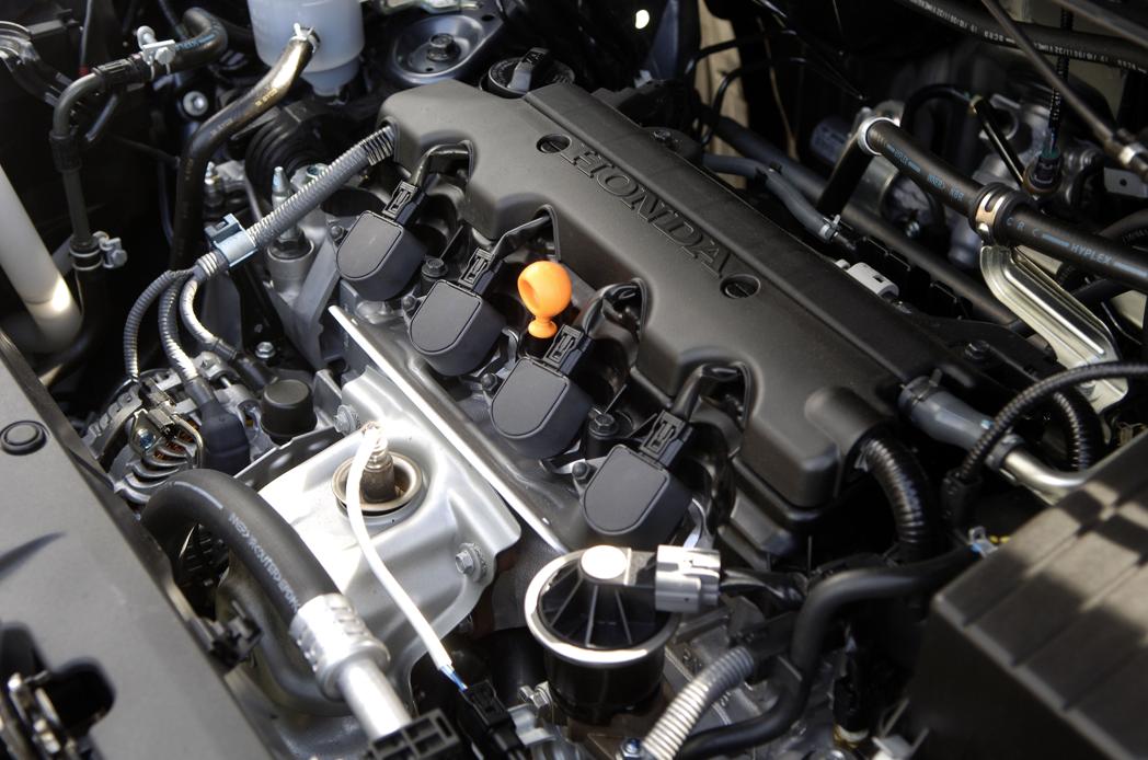 honda fr v. 2008 Honda FR-V, Engine View,