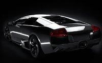 2009 Lamborghini Murcielago, Back Left Quarter View, exterior, manufacturer