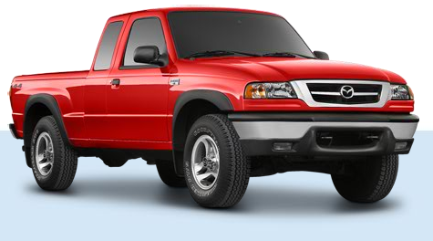 2009 Mazda B-Series Truck, Front Right Quarter View, manufacturer, exterior