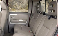 2009 Mitsubishi Raider, Interior View, manufacturer, interior