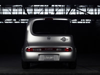 2009 Nissan Cube, Back View, exterior, manufacturer
