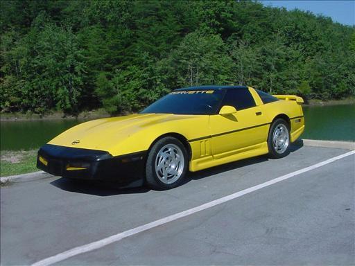 1994 Chevrolet Corvette, 1990 Chevrolet Corvette 2 Dr STD Hatchback picture, exterior