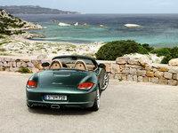 2009 Porsche Boxster, Back View, exterior, manufacturer