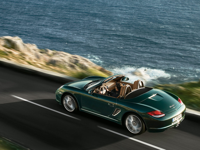 2009 Porsche Boxster, Back Left Quarter View, exterior, manufacturer