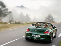 2009 Porsche Boxster, Back Right Quarter View, manufacturer, exterior