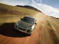 2009 Porsche Cayenne, Front View, exterior, manufacturer
