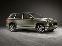 2009 Porsche Cayenne, Right Side View, exterior, manufacturer