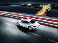 2009 Porsche Cayman S, Overhead View, exterior, manufacturer